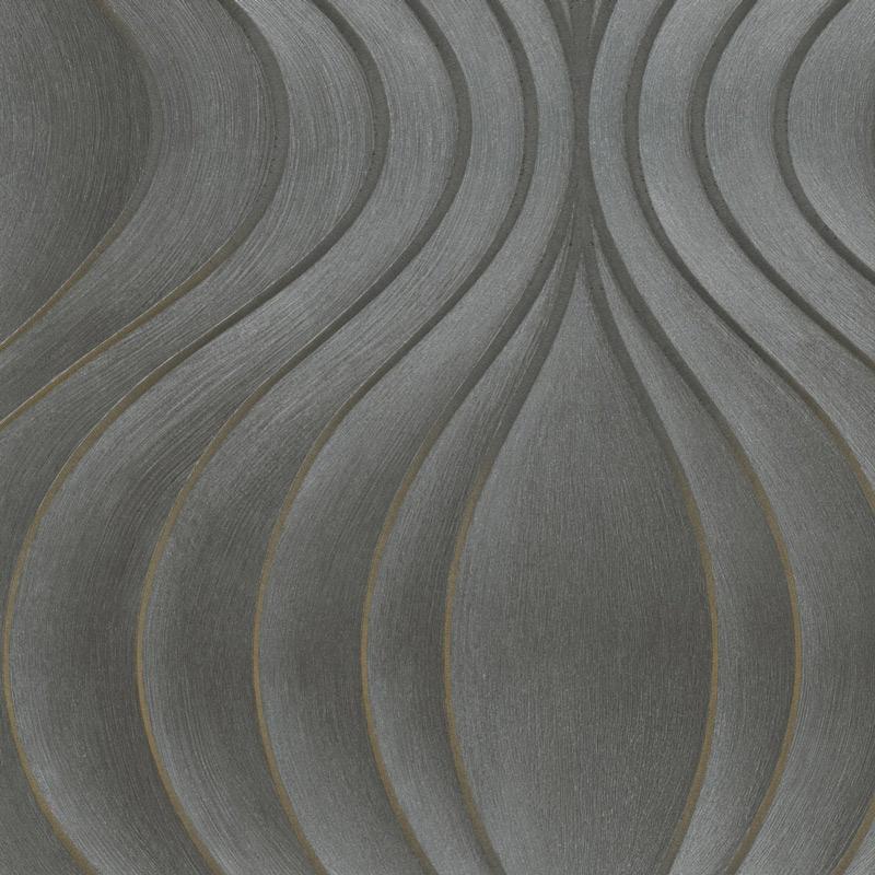 Marburg Tapete Luigi Colani Visions 76996 Tropfen gold Deko Elemente 2er Set