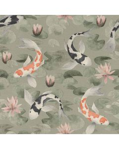 R409437 Kimono Rasch Tapete, Vinyltapete