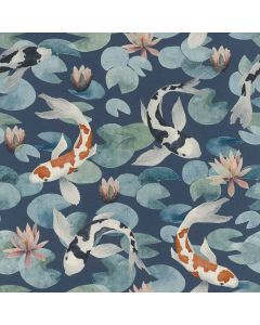 R409444 Kimono Rasch Tapete, Vinyltapete