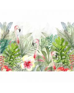 DD112972 XXL Wallpaper 5 Fototapete, Flamingos