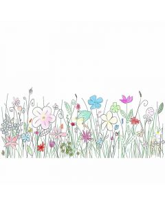 DD114852 XXL Wallpaper 5 Fototapete, Flowers1