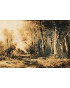 DD117410 Atelier 47 Fototapete, Forest Painting 2
