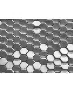 DD118722 Designwalls Fototapete, Hexagon Surface 1