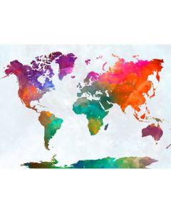 DD118802 Designwalls Fototapete, Global Map