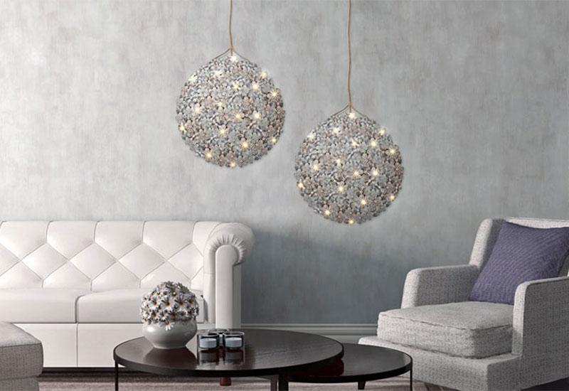 LED-Tapeten: Integrierte LED-Technik lässt Tapeten leuchten