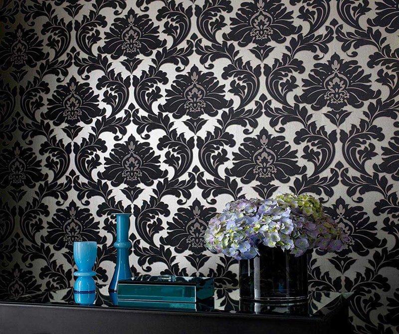 Ornament-Tapeten - Lebendige Muster für Wohnräume