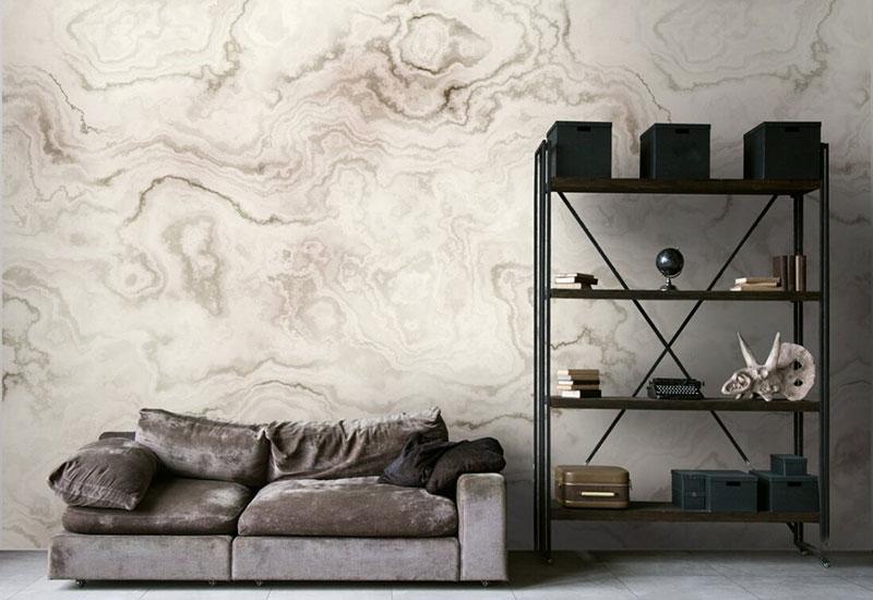 Marmor-Tapeten: Marmoroptik für die Wände