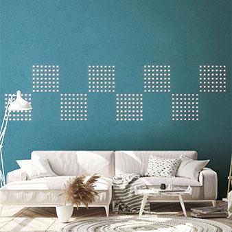 Tapete integrierte LED