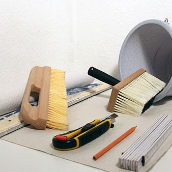 Tapezierfehler Werkzeug