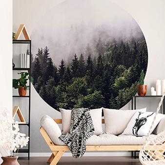 DD119184 Designwalls 2.0 Foggy Forest