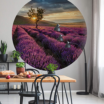 Runde Tapete DD119192 Designwalls 2.0 Lavender in the Provence