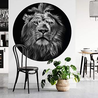Runde Tapete DD119196 Designwalls 2.0 Lion